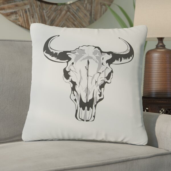 Flavia 100% Cotton Throw Pillow by Bungalow Rose